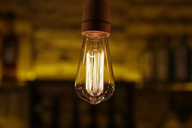 světlo v baru