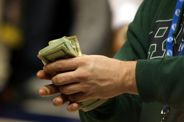 získané peníze