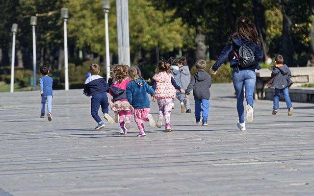 Venkovní sportovní aktivity dětí
